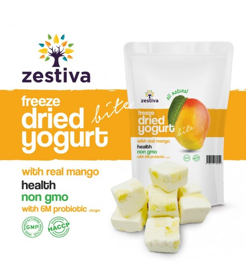 Zestiva Freeze Dried Mango Yogurt Bites ( 50g)