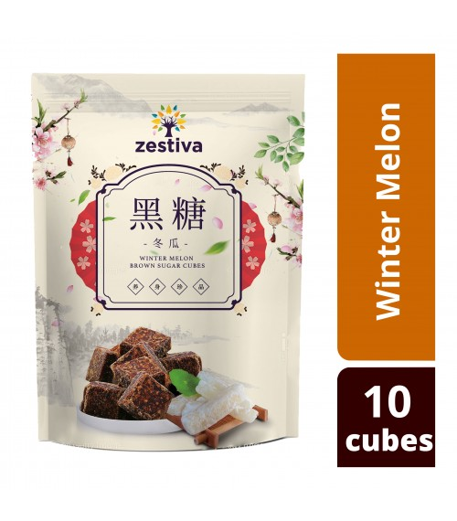 Zestiva Taiwan Winter Melon Brown Sugar (10 cubes)