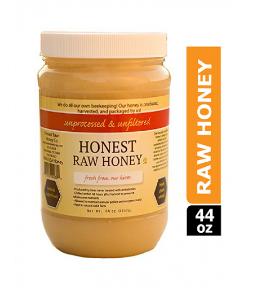 Honest Raw Honey (1.24kg) 100% USA Honey