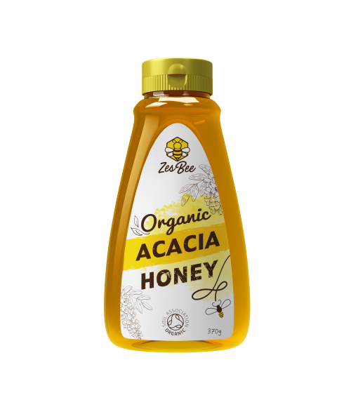 Zesbee Organic Acacia Honey (370g)