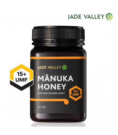 Jade Valley NZ UMF 15+ Manuka Honey (500g), Bundle of 2 at $125
